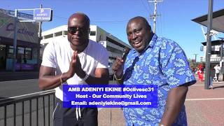 EXCLUSIVE INTERVIEW WITH KING OCORO AUSTRALIAN FAMOUS MUSICIAN - Our Community LIVES - EP 78 SEG 3