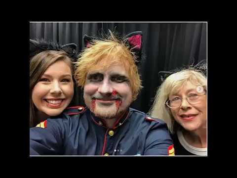 Ed Sheeran [Halloween Special Clips] Mercedes-Benz Superdome, New Orleans