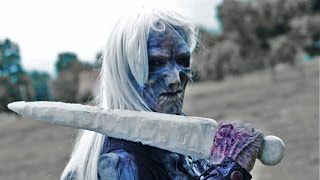 Game of Thrones: Epic Ice Sword Tested IRL! Zombie Go Boom Ft. Sufficiently Advanced