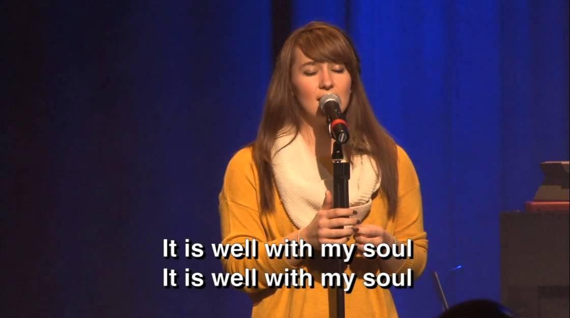 Lyric it is well with my soul lyrics hillsong : Through It All - It Is Well With My Soul - YouTube