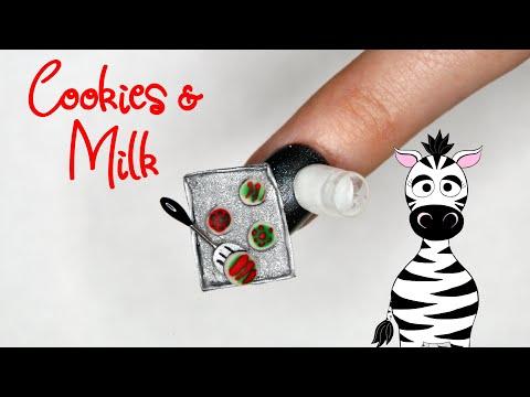 4D Christmas Cookie Sheet Acrylic Nail Art Tutorial | Madam Glam thumbnail
