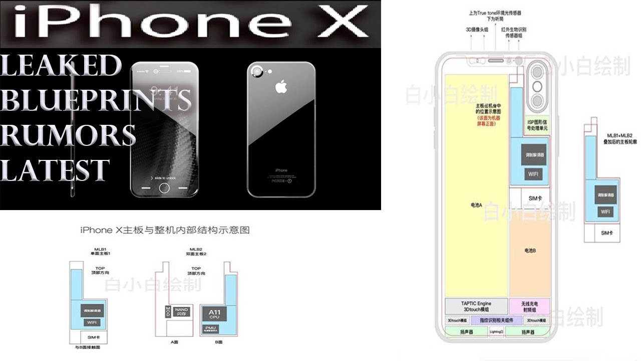 Apple iphone x blueprint leak a11 cpu alongwith vertical duel apple iphone x blueprint leak a11 cpu alongwith vertical duel camera malvernweather Gallery