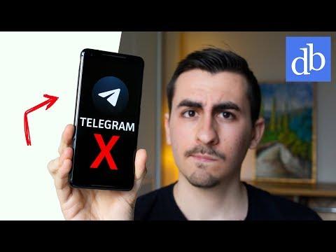 TELEGRAM X: ECCO LA VERSIONE SEGRETA DI TELEGRAM! Come funziona Telegram X • Ridble