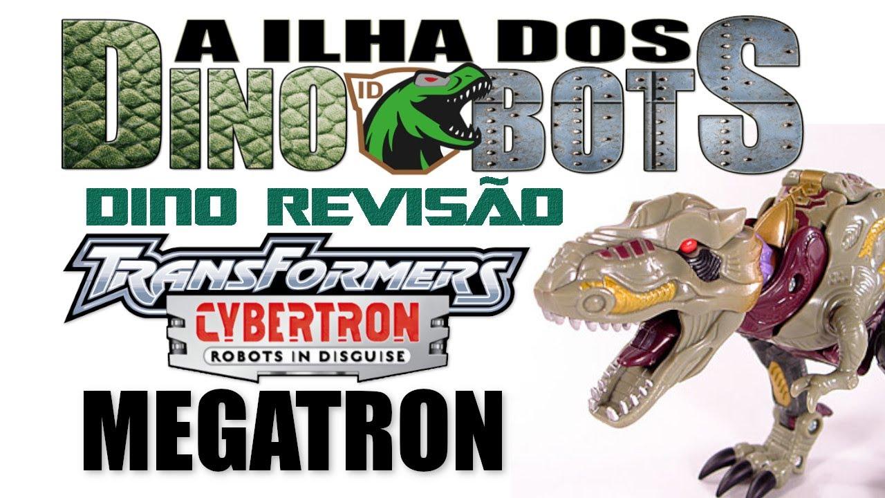 DINO REVISÃO - Transformer Cybertron MEGATRON
