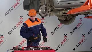 Byta Stabiliseringsstag bak vänster på VW TOURAN (1T1, 1T2) - videoinstruktioner