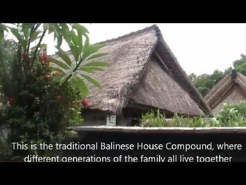 Batuan Village Traditional Balinese House Compound Intriguing Kite Designs Bali Tours Youtube