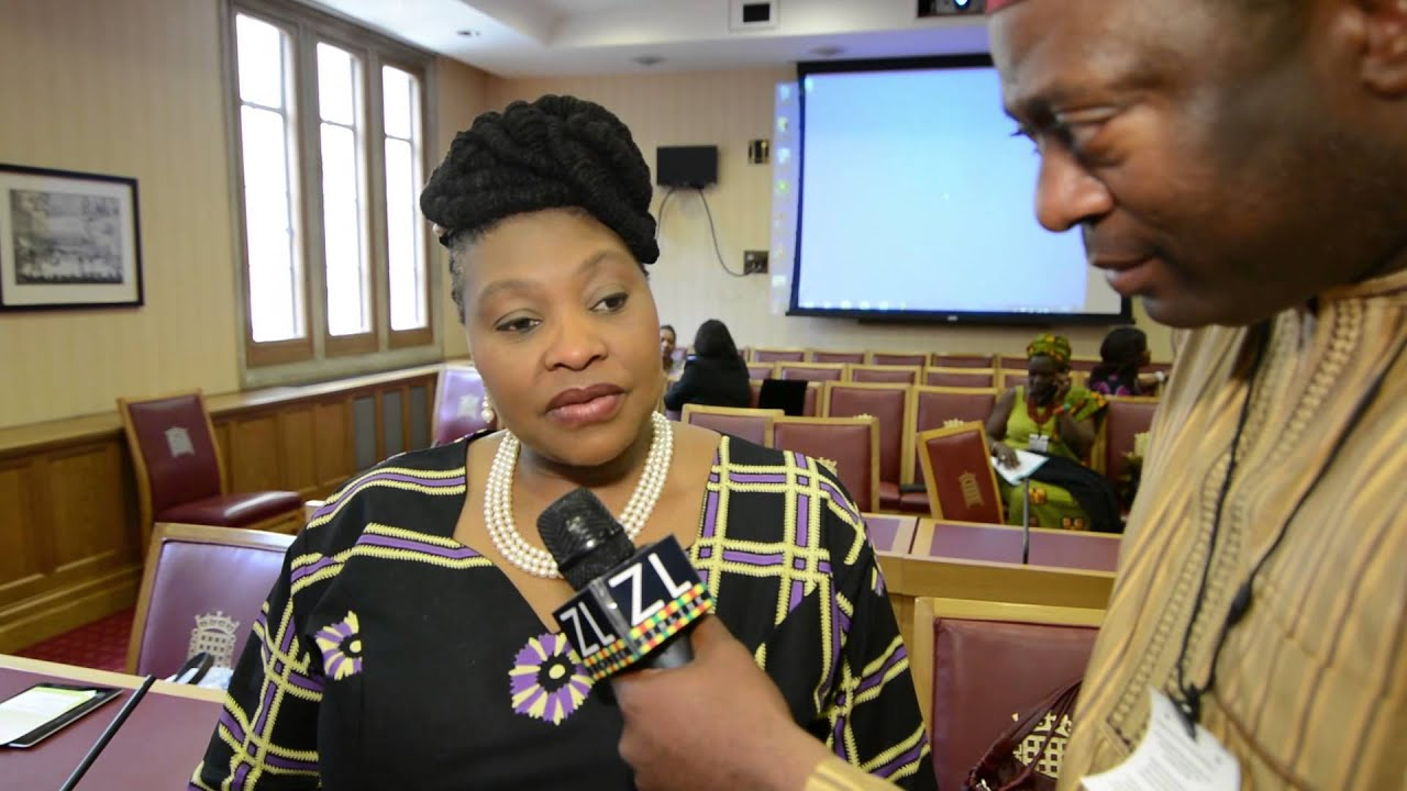 TONY FERNANDEZ OF AFRICA4U IN CONJUNCTION WITH ZIMLINK INTERVIEWS YVONNE CHAKA CHAKA