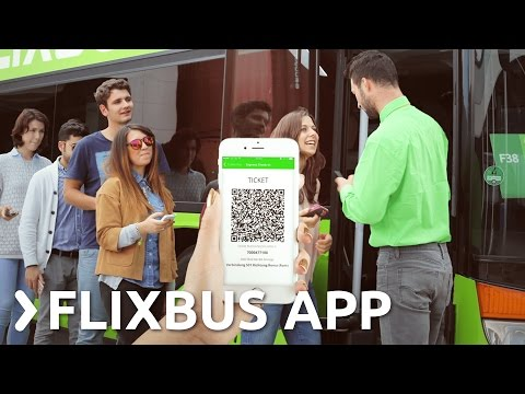 FlixBus App - The easiest way to book your trip across Europe