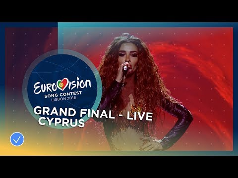 Eleni Foureira - Fuego - Cyprus - LIVE - Grand Final - Eurov