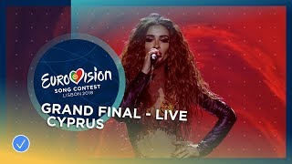 Eleni Foureira - Fuego - Cyprus - LIVE - Grand Final - Eurov...