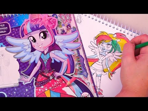 My Little Pony Equestria Girls Fashion Design Sketchbook for Kids - Stories With Toys & Dolls