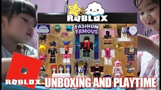 Roblox Fashion Famous Toy Unboxing and Review