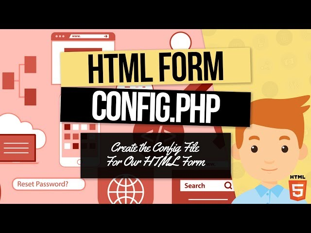 PHP Forms Tutorial: Create the Config File