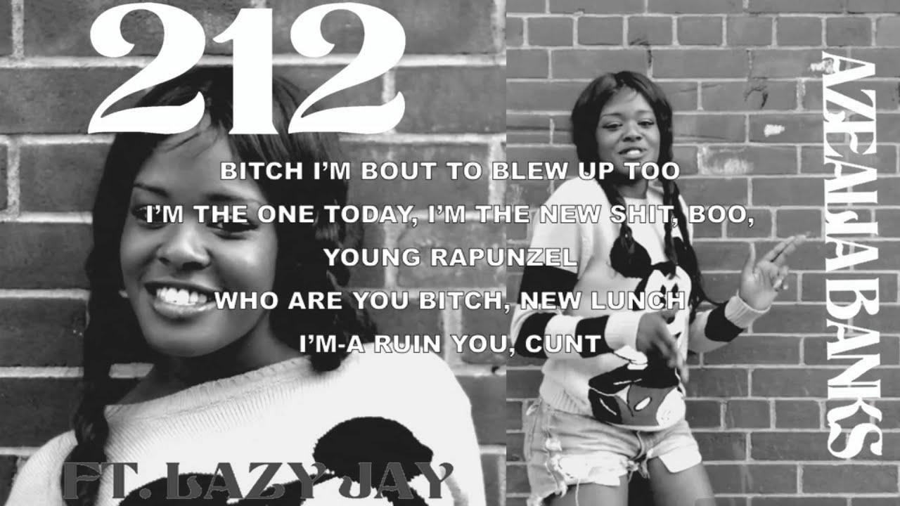 Azealia Banks feat. Lazy Jay - 212 (clean version) Lyrics