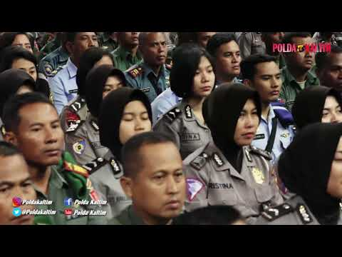 KUNJUNGAN KERJA PANGLIMA TNI DAN KAPOLRI KE KALTIM