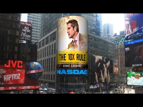Grant Cardone Talks Sales & Money at NASDAQ