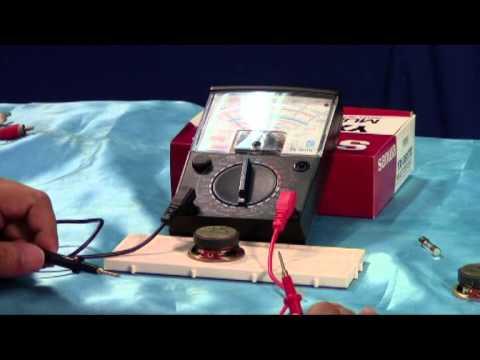 ตอนที่ 6 การนำมัลติมิเตอร์ตรวจสอบอุปกรณ์อิเล็กทรอนิกส์เบื้องต้น
