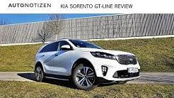 Kia Sorento GT-Line 2.2 CRDI 2018 Review, Test, Fahrbericht