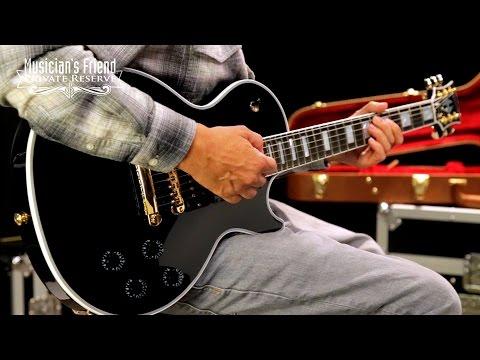 GibsonLimited Edition 2017 Les Paul Nashville Black Beauty Electric Guitar