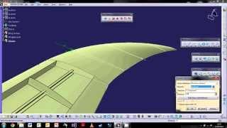 CATIA V5 : The Basics Tutorial 7: Wireframe & Surfacing Pt.3 ¦ Propeller & Wingtips