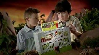 Matchbox - T-Rex Take Down - Dino Breakout Playset - Y9256