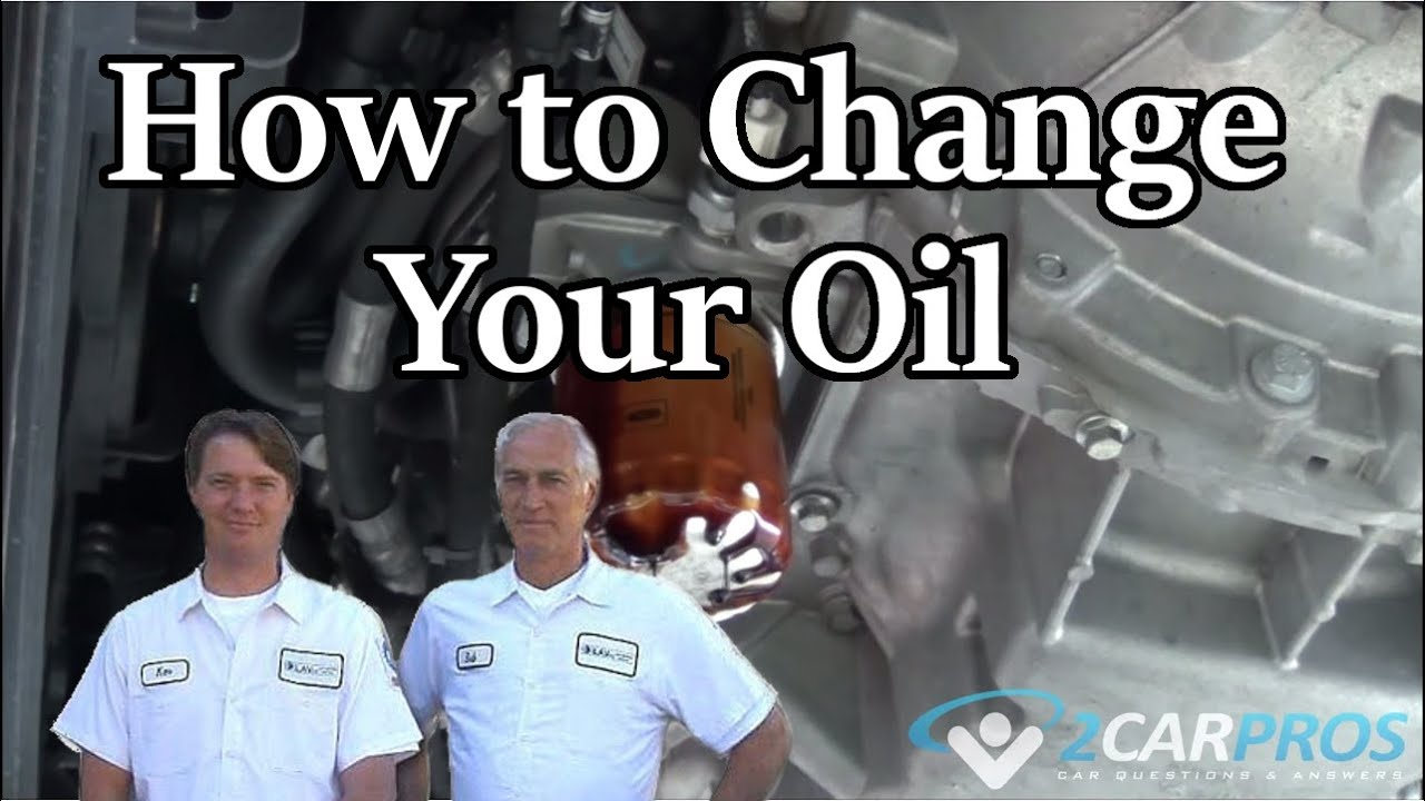 How to Change Oil and Filter Ford Transit Connect 2002-2013