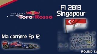 F1 2013 | gameplay carrière | A la chasse à J.Button. | FR-SE