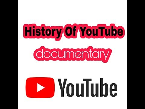 Full history of YouTube in 3 minutes with the help of wikipedia