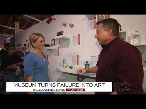 CBS Evening News  - 2017 12 28 - Museum of Failure