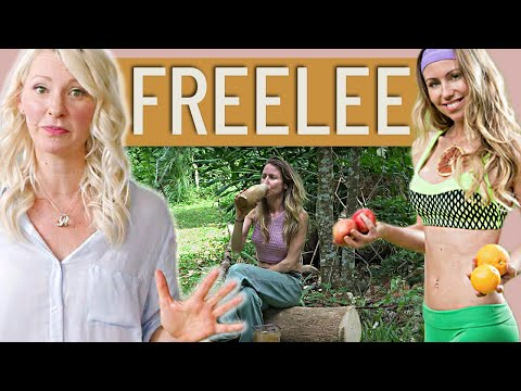 Dietitian's Review of FREELEE The Banana Girl's What I Eat in a Day