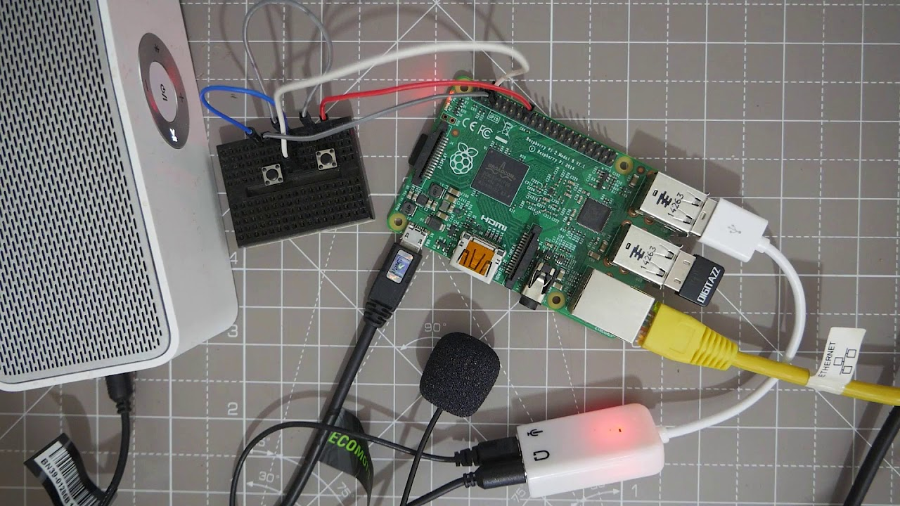 Make a Google AIY Assistant without the kit on the Raspberry