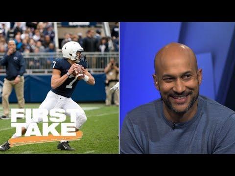 Keegan-Michael Key Makes Predictions For Penn State Football | First Take | ESPN