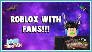 *LIVE* ROBLOX GAMES WITH FANS!!! ROAD TO 500!!!
