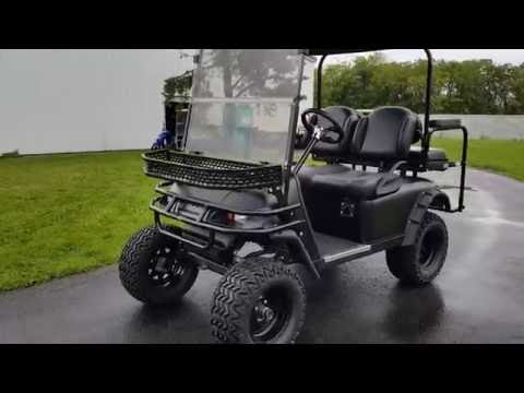 Ez Go TXT 48 Volt Golf Cart Hunter Edition - Fully Loaded