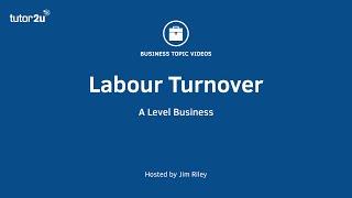 Ratio Analysis: Labour Turnover