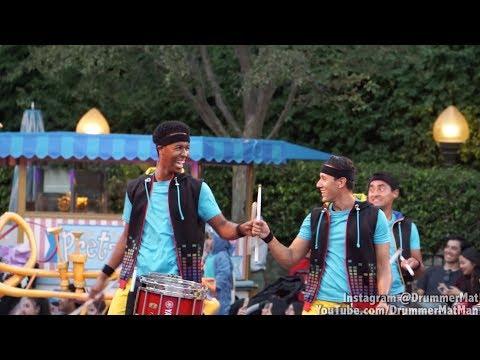 Disneyland's Soundsational Parade Drummer Collage - Mat Miranda