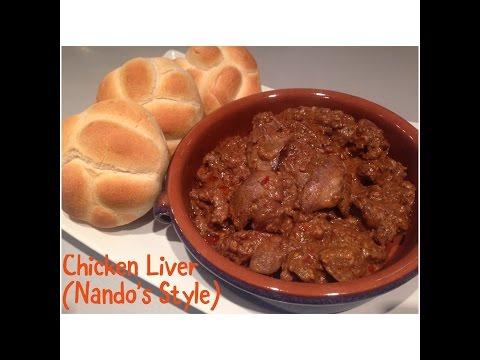 Chicken Liver (Nando's Style)