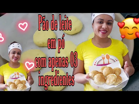 Pão Com Apenas 03 Ingredientes E Sem Farinha De Trigo/#lowcarb