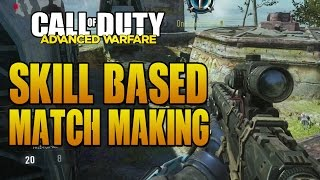 Advanced Warfare: Removing Skill Based Match Making & Connection Issues