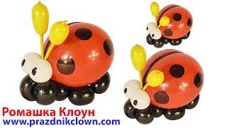 божья коровка из воздушных шаров Ladybug from balloons