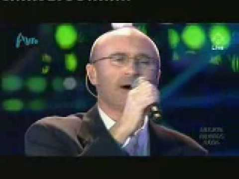 Phil Collins You'll be in my heart Live