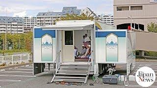 Mobile mosque takes 'omotenashi' everywhere - The Japan News