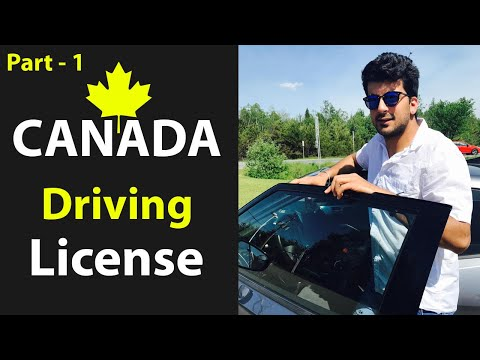 Canada Driving License (Brief About Car And Truck License) Part - 1