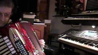 CUANDO SALI DE CUBA, ACORDEON MIDI Y KORG PA 50, HUGO (IMPROVISACION CON SAXO)