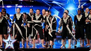 Khronos Girls empowering performance wows Judges | Auditions | BGT 2019