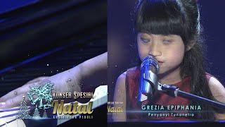 Grezia Epiphania 'Walau Ku Tak Dapat Melihat' [Konser Spesial Natal] [25 Des 2015]