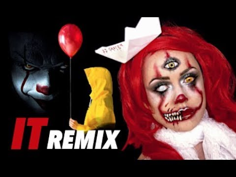 IT REMX CLOWN GIRL EDITION MAKUP TUTORIAL thumbnail