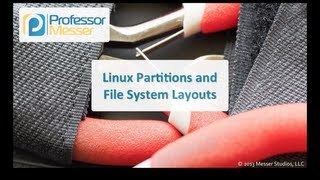 Linux Partitions and File System Layouts - CompTIA Linux+ LX0-101, LPIC-1: 102.1