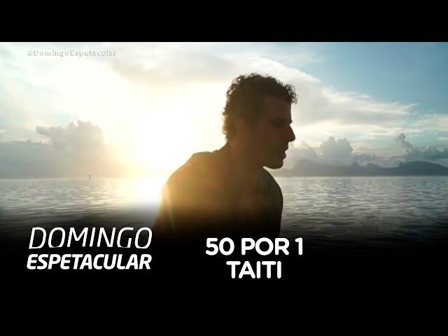 50 Por 1: Álvaro Garnero se aventura em árvores centenárias e pedras gigantes do Taiti