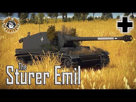 War Thunder: Sturer Emil, German Tier-4 Tank Destroyer
